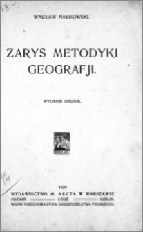 Zarys metodyki geografii