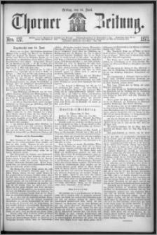 Thorner Zeitung 1872, Nro. 137
