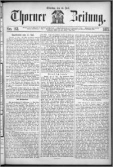 Thorner Zeitung 1872, Nro. 163