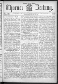 Thorner Zeitung 1872, Nro. 187