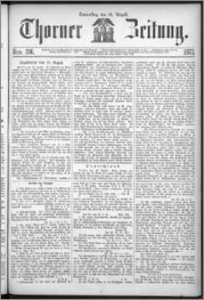 Thorner Zeitung 1872, Nro. 196