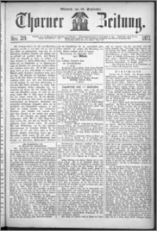 Thorner Zeitung 1872, Nro. 219