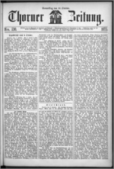 Thorner Zeitung 1872, Nro. 238