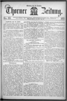 Thorner Zeitung 1872, Nro. 253