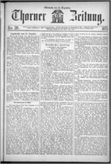 Thorner Zeitung 1872, Nro. 291
