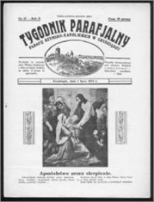 Tygodnik Parafjalny 1934, R. 2, nr 27