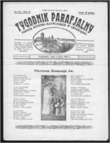 Tygodnik Parafjalny 1934, R. 2, nr 28