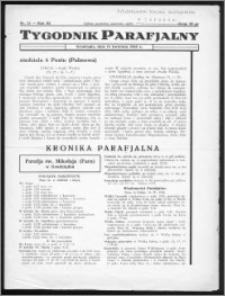 Tygodnik Parafjalny 1935, R. 3, nr 15