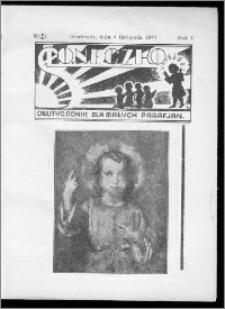 Słoneczko 1934, R. 1, nr 1