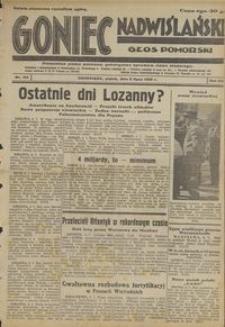 Goniec Nadwiślański : Głos Pomorski : niezależne pismo poranne poświęcone sprawom stanu średniego : 1932.07.08, R. 8 nr 154