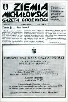 Ziemia Michałowska : Gazeta Brodnicka R. 1992, Nr 3 (36)
