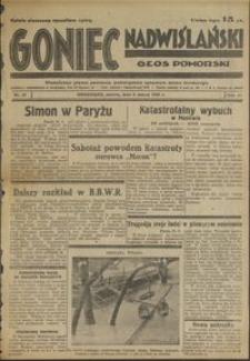 Goniec Nadwiślański : Głos Pomorski : niezależne pismo poranne poświęcone sprawo stanu średniego : 1935.03.02, R. 11 nr 51