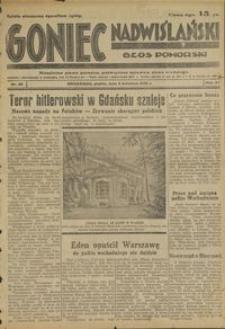Goniec Nadwiślański : Głos Pomorski : niezależne pismo poranne poświęcone sprawom stanu średniego : 1935.04.05. R. 11, nr 80