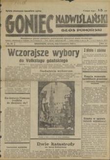 Goniec Nadwiślański : Glos Pomorski : niezależne pismo poranne poświęcone sprawom stanu średniego1935.04.09, R. 11 nr 47