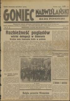 Goniec Nadwiślański : Głos Pomorski : niezależne pismo poranne poświęcone sprawom stanu średniego : 1935.04.18, R. 11 nr 91