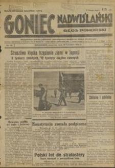 Goniec Nadwiślański : Głos pomorski : niezalezne pismo poranne poświęcone sprawom stanu średniego : 1935.04.25, R. 11 nr 96