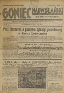 Goniec Nadwiślański : Głos Pomorski : niezależne pismo poranne poświęcone sprawom stanu średniego : 1935.05.01, R. 11 nr 101