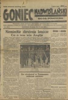 Goniec Nadwiślański : Głos Pomorski : niezależne pismo poranne poświęcone sprawom stanu średniego : 1935.05.12, R. 11 nr 110