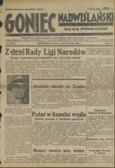 Goniec Nadwiślański : Głos Pomorski : niezalezne pismo poranne poświęcone sprawom stanu średniego : 1935.05.26, R. 11 nr 122