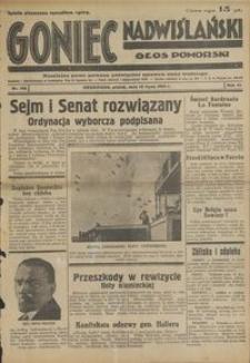 Goniec Nadwiślański : Głos Pomorski : niezależne pismo poranne poświęcone sprawom stanu średniego : 1935.07.12. R, 11 nr 158