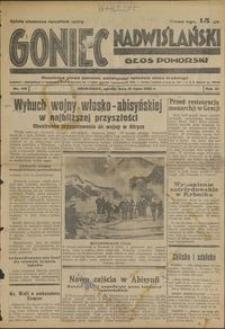 Goniec Nadwiślański : Głos Pomorski : niezalezne pismo poranne poświęcone sprawom stanu średniego : 1935.07.13, R. 11 nr 159