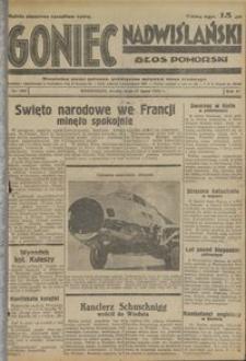 Goniec Nadwiślański : Głos Pomorski : niezależne pismo poranne poświęcone sprawom stanu średniego : 1935.07.17, R. 11 nr 162