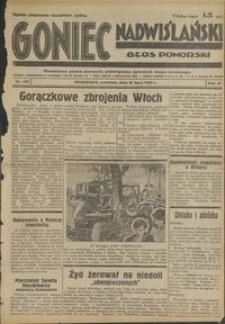 Goniec Nadwiślański : Głos Pomorski : niezależne pismo poranne poświęcone sprawom stanu średniego :1935.07.18, R. 11 nr 163