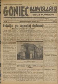 Goniec Nadwiślański : Głos Pomorski : niezależne pismo poranne poświęcone sprawom stanu średniego : 1936.03.18, R. 12 nr 65