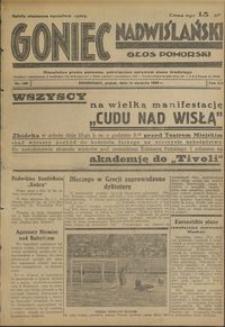 Goniec Nadwiślański : Głos Pomorski : niezależne pismo poranne poświęcone sprawom stanu średniego :1936.08.14, R. 12 nr 188