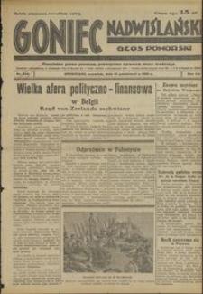 Goniec Nadwiślański : Głos Pomorski : niezależne pismo poranne poświęcone sprawom stanu średniego :1936.10.15, R. 12 nr 240