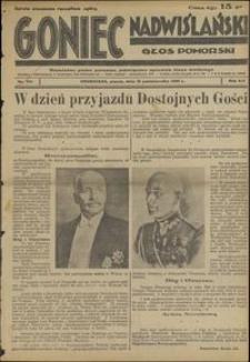 Goniec Nadwiślański : Głos Pomorski : niezależne pismo poranne poświęcone sprawom stanu średniego :1936.10.16, R. 12 nr 241