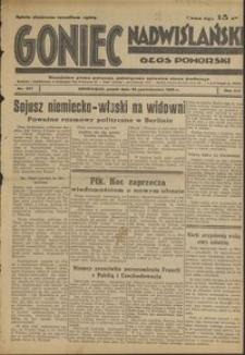 Goniec Nadwiślański : Głos Pomorski : niezależne pismo poranne poświęcone sprawom stanu średniego : 1936.10.23, R. 12 nr 247
