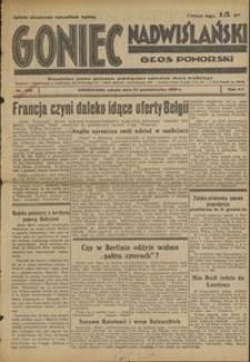Goniec Nadwiślański : Głos Pomorski : niezależne pismo poranne poświęcone sprawom stanu średniego : 1936.10.24, R. 12 nr 248