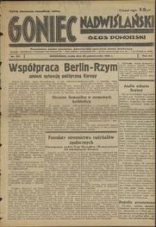 Goniec Nadwiślański : Głos Pomorski : niezależne pismo poranne poświęcone sprawom stanu średniego : 1936.10.28, R. 12 nr 251