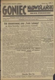 Goniec Nadwiślański : Głos Pomorski : niezależne pismo poranne poświęcone sprawom stanu średniego : 1936.12.08, R. 12 nr 286