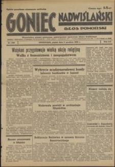 Goniec Nadwiślański : Głos Pomorski : niezależne pismo poranne poświęcone sprawom stanu średniego : 1936.12.11, R. 12 nr 288