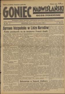 Goniec Nadwiślański : Głos Pomorski : niezależne pismo poranne poświęcone sprawom stanu średniego : 1936.12.15, R. 12 nr 291