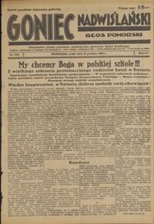 Goniec Nadwiślański : Głos Pomorski : niezależne pismo poranne poświęcone sprawom stanu średniego : 1936.12.16, R. 12 nr 292