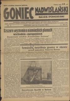 Goniec Nadwiślański : Głos Pomorski : niezależne pismo poranne poświęcone sprawom stanu średniego : 1936.12.30, R. 12 nr 302