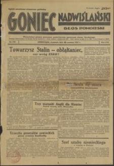 Goniec Nadwiślański : Głos Pomorski : niezależne pismo poranne poświęcone sprawom stanu średniego : 1937.06.20, R. 13 nr 139