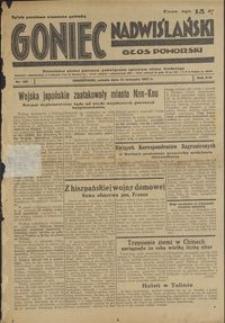 Goniec Nadwiślański : Głos Pomorski : niezależne pismo poranne poświęcone sprawom stanu średniego : 1937.08.14, R. 13 nr 185