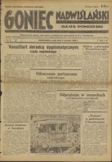 Goniec Nadwiślański : Głos Pomorski : niezależne pismo poranne poświęcone sprawom stanu średniego : 1938.01.05, R. 14 nr 3