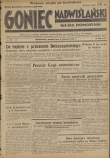 Goniec Nadwiślański : Głos Pomorski : niezależne pismo poranne poświęcone sprawom stanu średniego : 1938.01.18, R. 14 nr 13