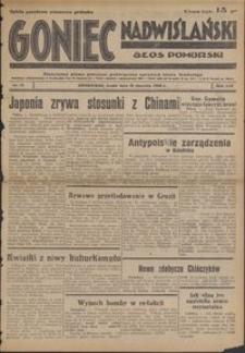 Goniec Nadwiślański : Głos Pomorski : niezależne pismo poranne poświęcone sprawom stanu średniego : 1938.01.19, R. 14 nr 14