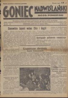 Goniec Nadwiślański : Głos Pomorski : niezależne pismo poranne poświęcone sprawom stanu średniego : 1938.01.21, R. 14 nr 16
