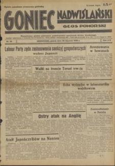 Goniec Nadwiślański : Głos Pomorski : niezależne pismo poranne poświęcone sprawom stanu średniego : 1938.01.28, R. 14 nr 22