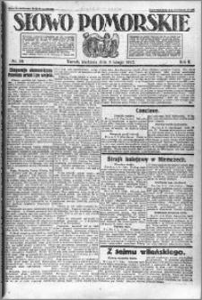 Słowo Pomorskie 1922.02.05 R.2 nr 30