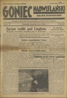 Goniec Nadwiślański : Głos Pomorski : niezależne pismo poranne poświęcone sprawom stanu średniego : 1938.03.01, R. 14 nr 49