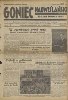 Goniec Nadwiślański : Głos Pomorski : niezależne pismo poranne poświęcone sprawom stanu średniego : 1938.03.05/06, R. 14 nr 53