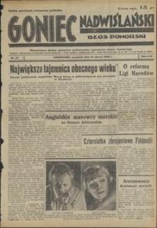 Goniec Nadwiślański : Głos Pomorski : niezależne pismo poranne poświęcone sprawom stanu średniego : 1938.03.10, R. 14 nr 57